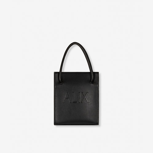 ALIX THE LABEL SMALL FAUX LEATHER BAG