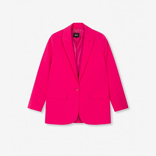 ALIX THE LABEL OVERSIZED STRETCH BLAZER