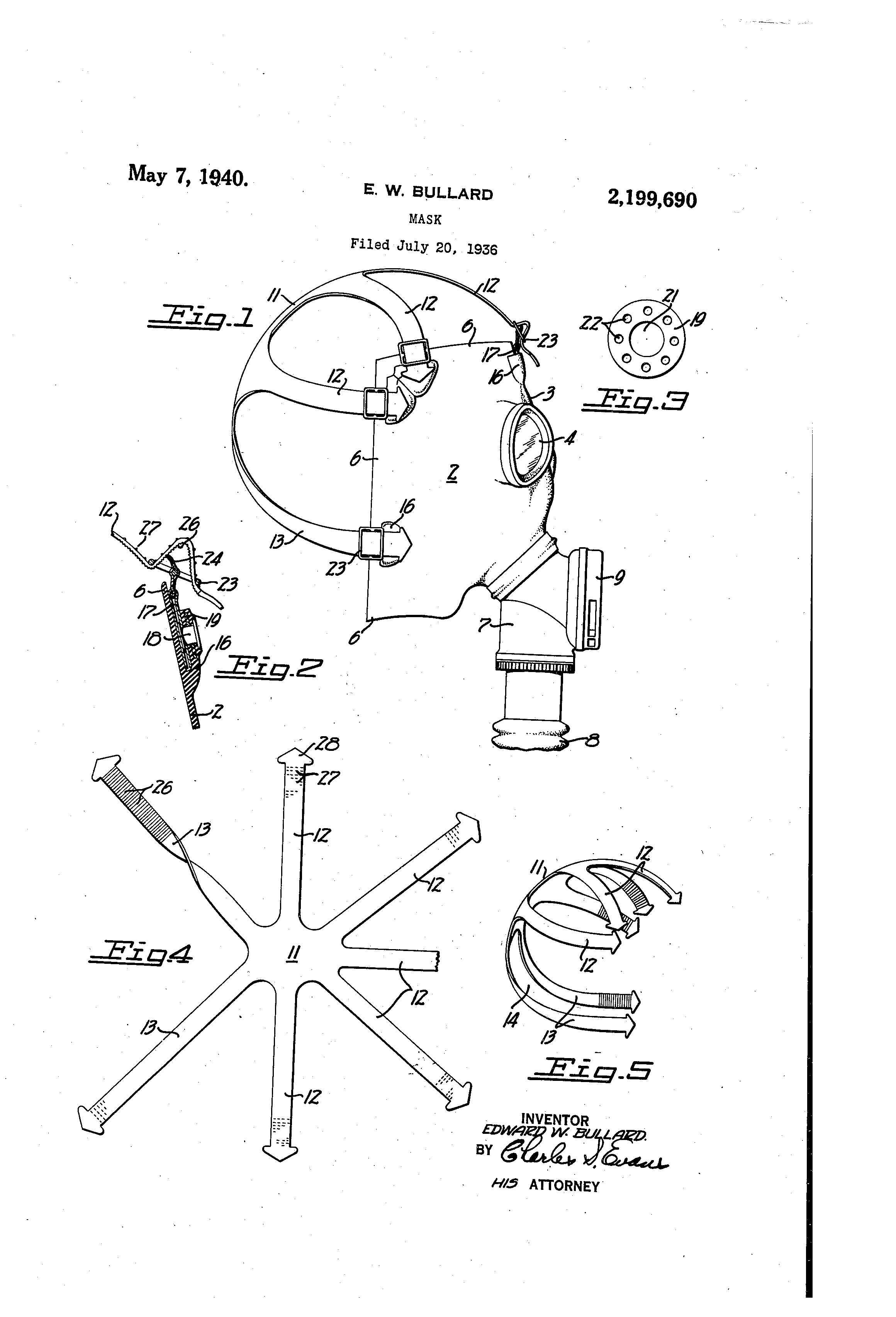 May 7, 1940 Patent