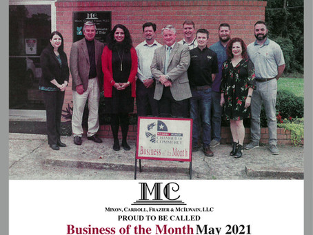 Franklin Parish Business of the Month May 2021