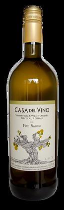 "VINO BIANCO 1 lt Flasche ""Casa del Vino"" Sonderfüllung"
