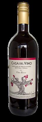"VINO ROSSO  1 lt Flasche ""Casa del Vino"" Sonderfüllung"