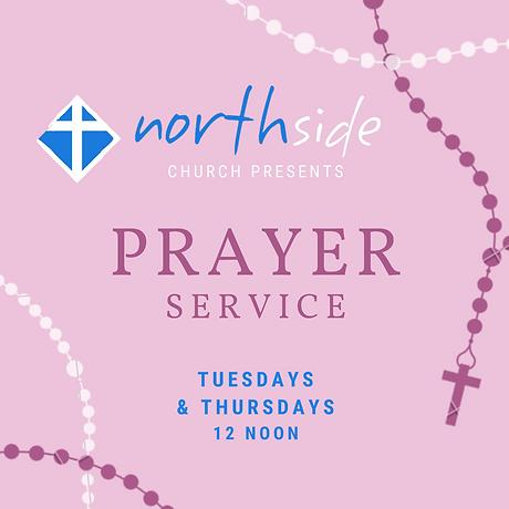 NORTHSIDE Pink Prayer Service Invitation