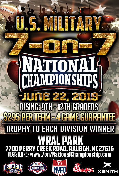 US Military 7 ON 7 HIGH SCHOOL NATIONAL