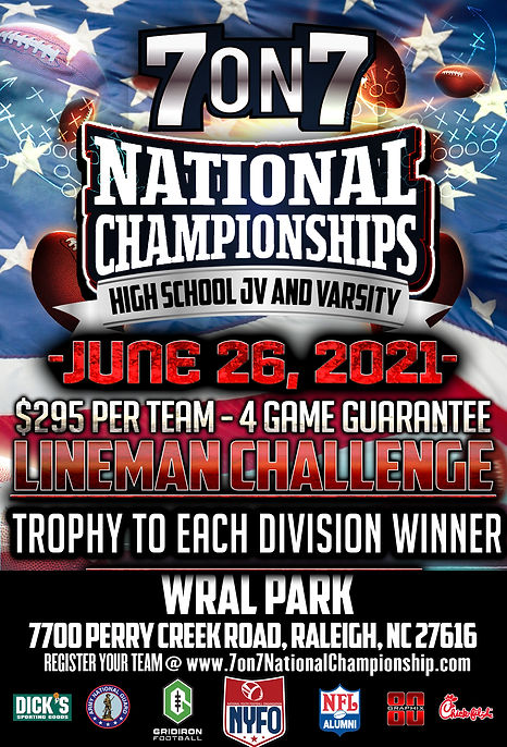 NYFO NATIONAL CHAMPIONSHIPS HIGH SCHOOL