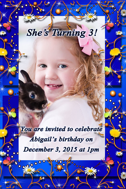 Confetti Invitation Design (Includes Envelopes) - As low as $0.99 each card