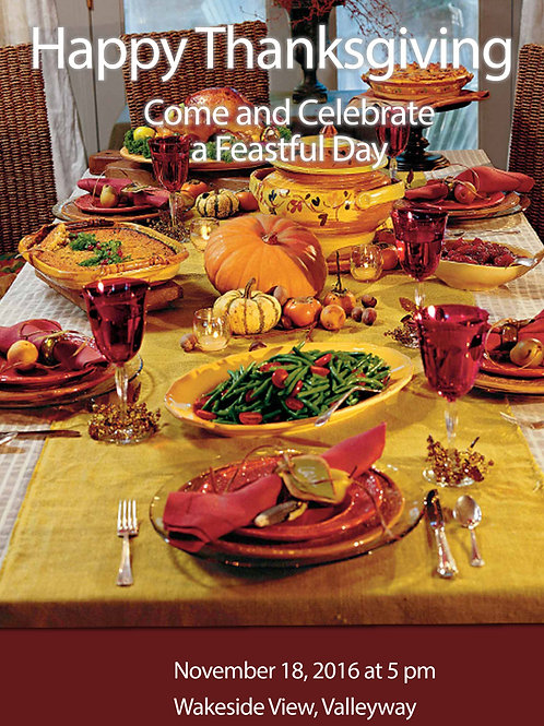 Holiday Dinner Invitations (Includes Envelopes) As low as $0.79 each