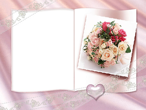 Framed Bouquet of Flowers - As low as $0.99 each