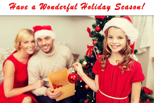 Holiday Greeting Cards (Includes Envelopes) As low as $0.79 each