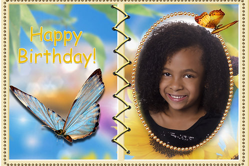 Butterfly Invitation Design (Includes Envelopes) - As low as $0.99