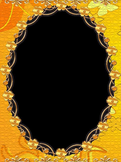 Festive Yellow Frame - As low as $0.99 each
