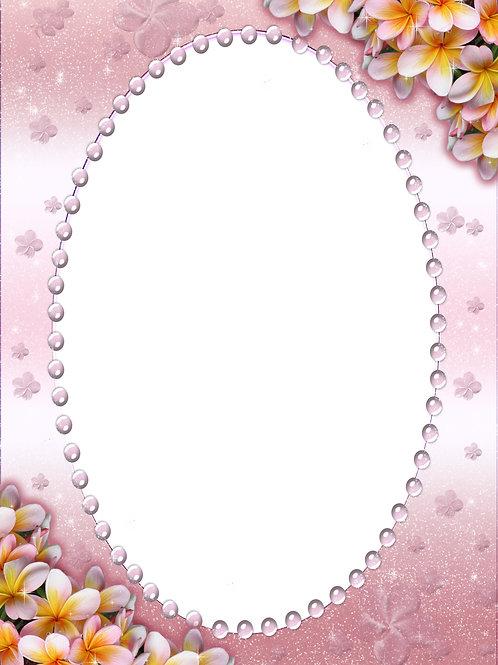 Lavender Pearled Frames - As low as $0.99 each