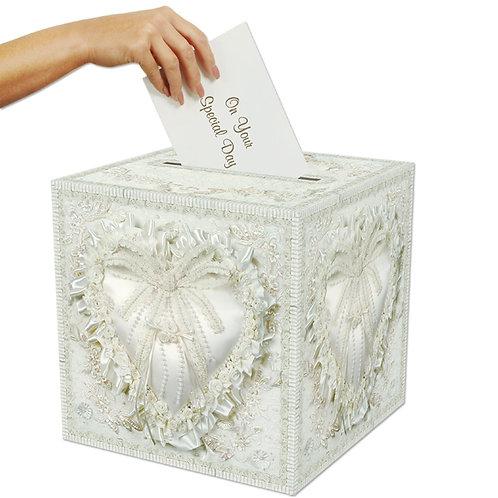 """Fancy Wedding Party Card Box, 12"""" x 12"""" - $14.9"""
