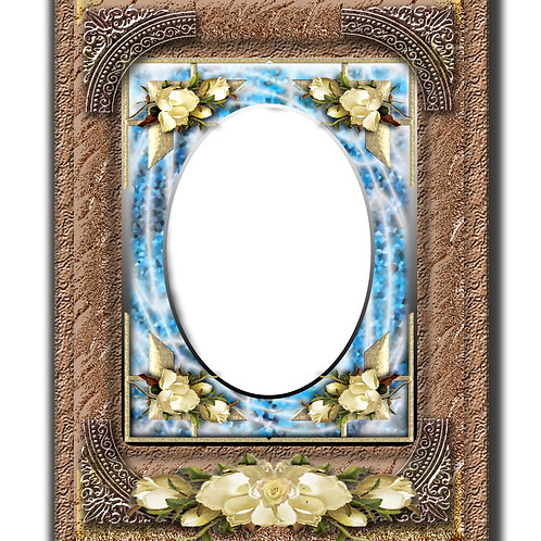 Flowered Archaic Frame - - As low as $0.99 each