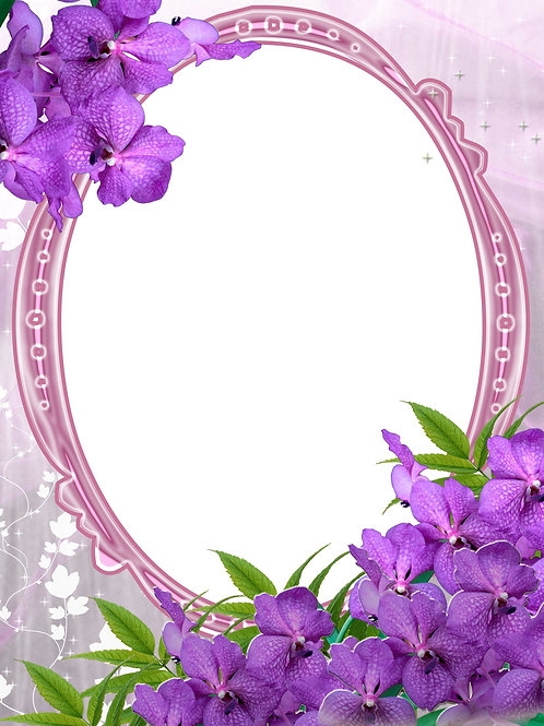 Purple Flowers on a Frame - As low as $0.99 each
