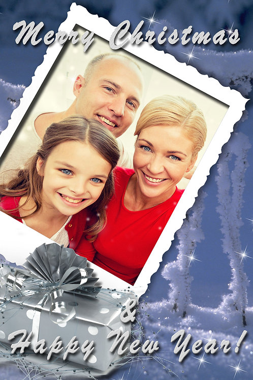 Winter Frost Holiday Cards (Includes Envelopes) As low as $0.79 each