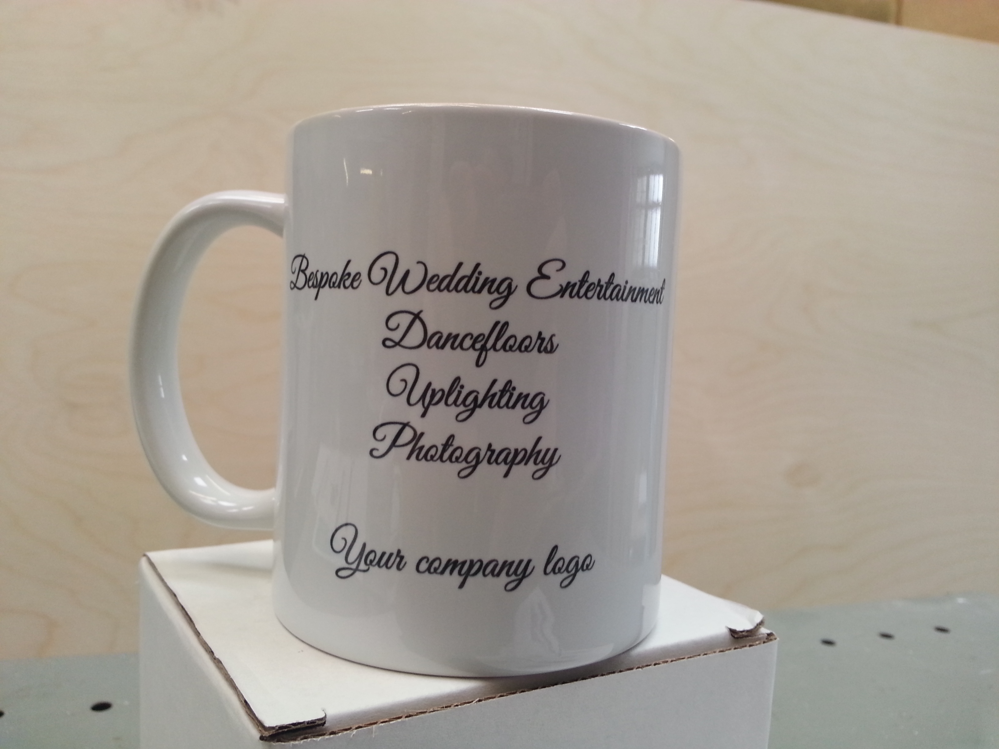 Beautiful mugs made to order