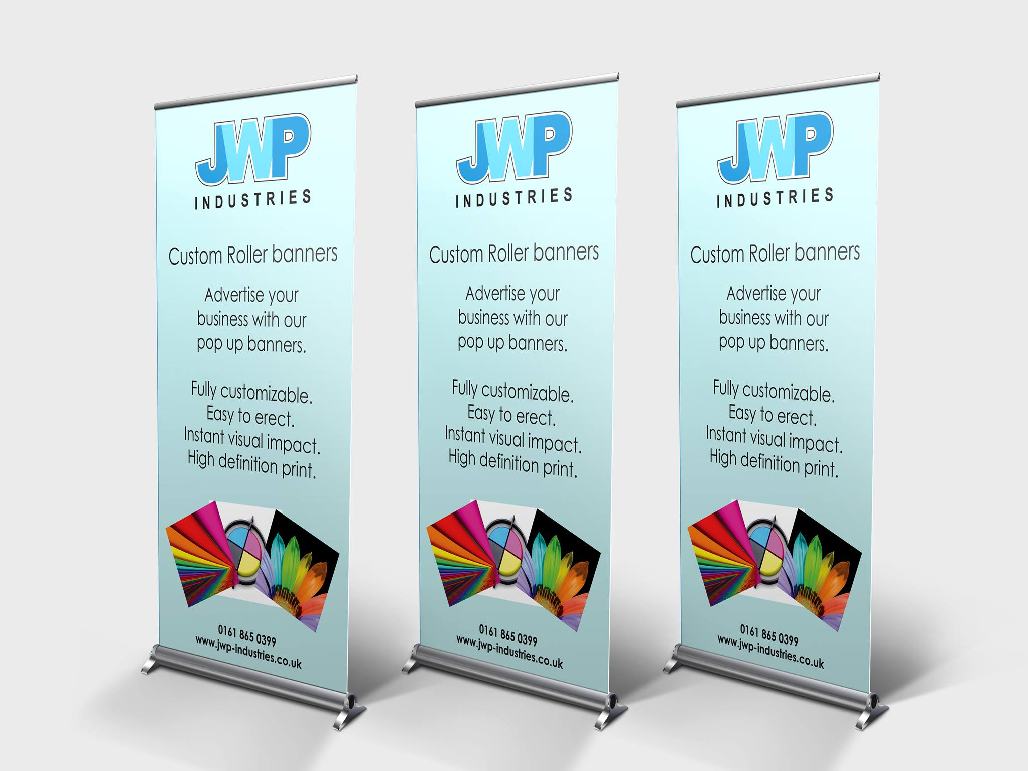 Pop up banners made to order
