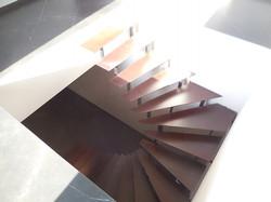 Escalier corten1