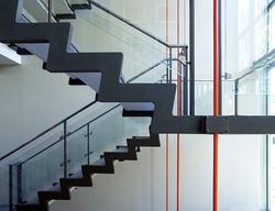 Escalier à cremaillère