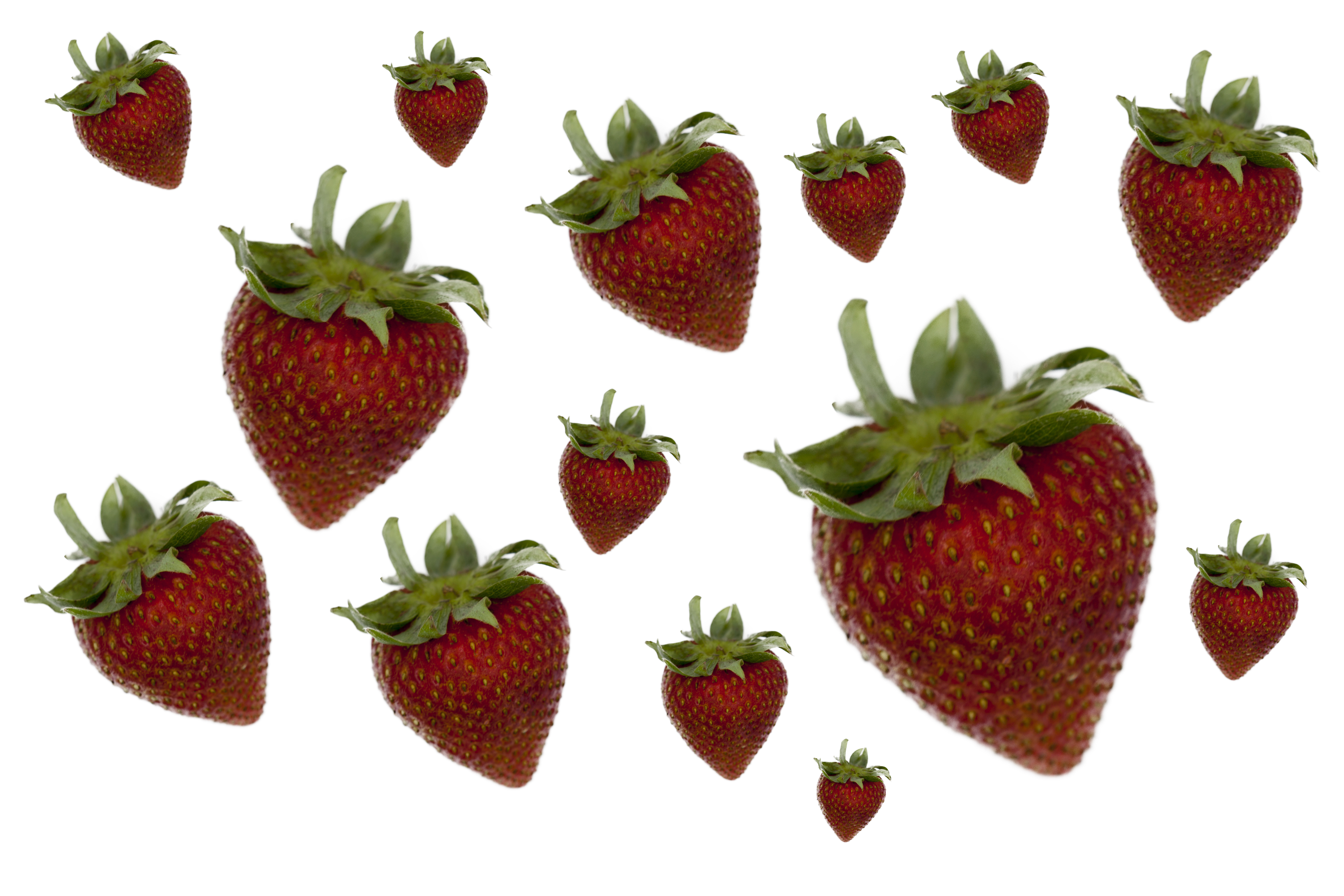 Background Strawberry II