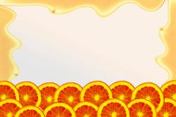 Orange Background IV