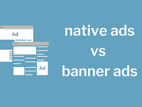 native ads vs banner ads: which should you use?