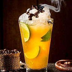Caipirinha de Limão com Café