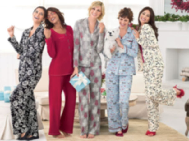 women in pj's