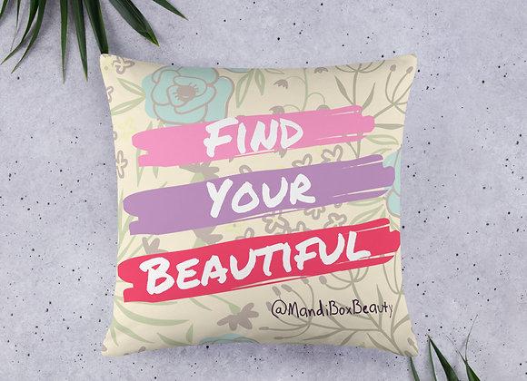 FYB Throw Pillow