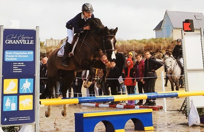 jumping donville plage