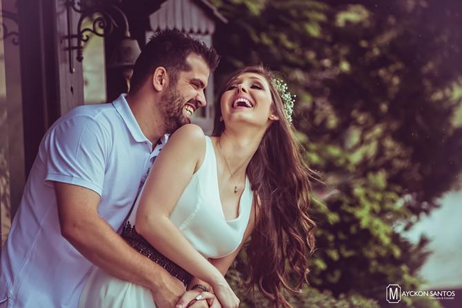 Francine e Felipe