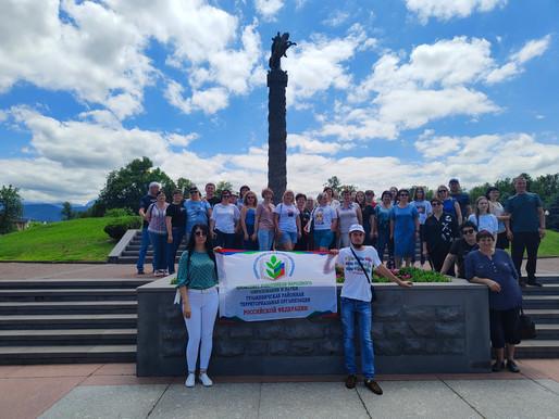 Педагоги Гулькевичского района совершили экскурсионно-туристический поход
