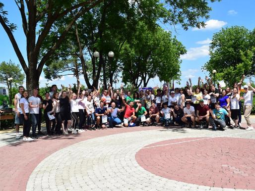 Спортивно-оздоровительный квест для молодых педагогов состоялся в Динском районе