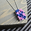 Thumbnail: Mini Roses Pendant Necklace