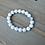 Thumbnail: Howlite Stone Beaded Bracelet