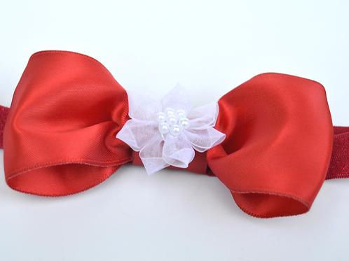 CLASSIC RED & WHITE VALENTINE HEADBAND