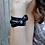 Thumbnail: Turquoise Stone Leather Bracelet