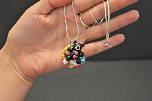 Teddy Bear Girl Necklace