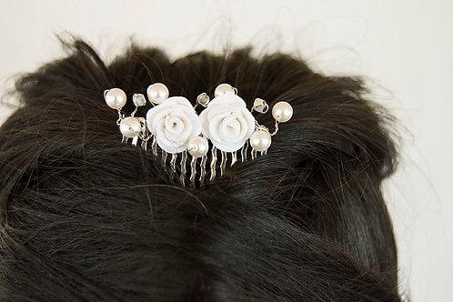 Bridal Pearl Hair Comb