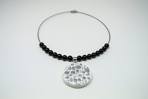 Modern Bead Collar Necklace