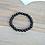 Thumbnail: Black Agate Stone Bracelet