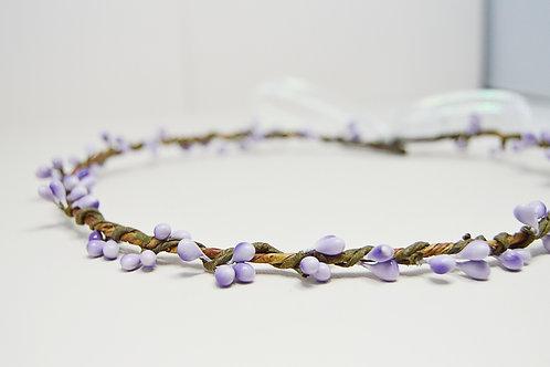 Purple Hair Vine Crown