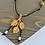 Thumbnail: Leave Pendant Leather Necklace