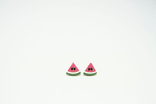 Watermelon Fruit Earrings