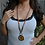 Thumbnail: Artisan Tree Long Leather Necklace