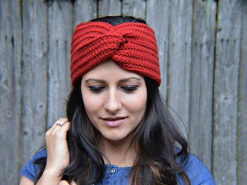 Red Turban Headband
