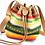 Thumbnail: Vintage Leather Bucket Bag