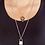 Thumbnail: Lock and Key Lariat Chain Necklace