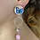 Thumbnail: Butterfly Drop Earrings Gold